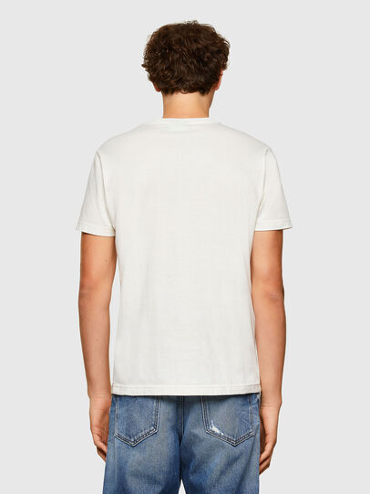 Diesel - T-DIEGOS-A5, White - T-Shirts - Image 2