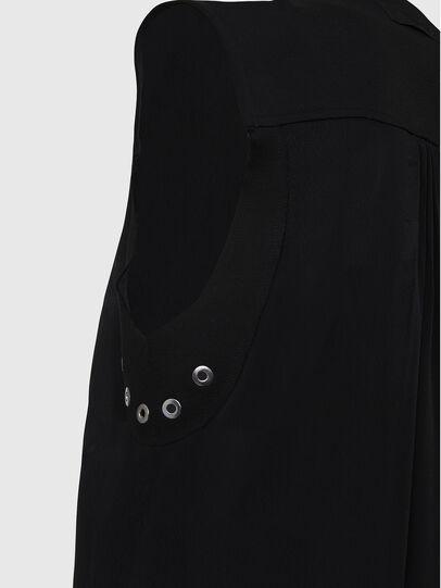 Diesel - D-EVEN-A, Black - Dresses - Image 4