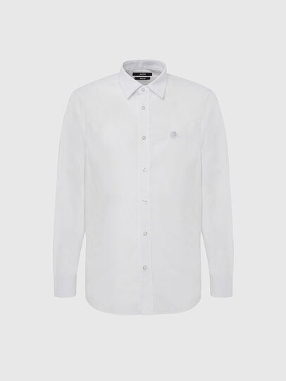 Diesel - S-BILL, White - Shirts - Image 1