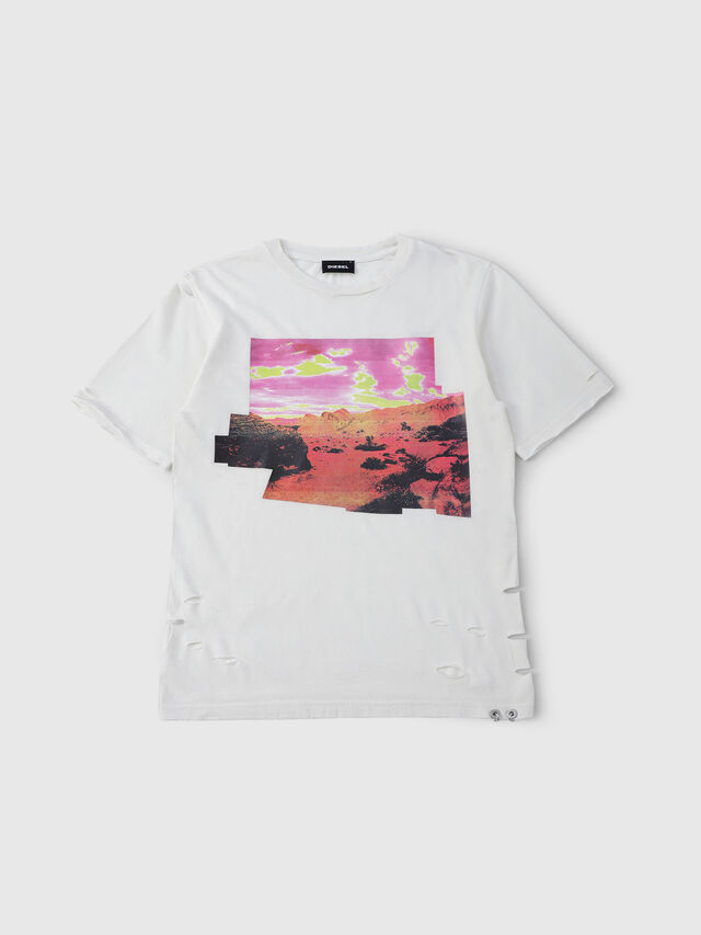 Diesel - TCYNTH, White - T-shirts and Tops - Image 1