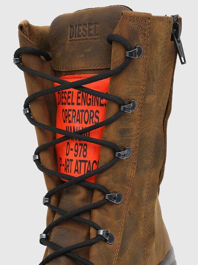 Diesel - H-WOODKUT BT, Brown - Boots - Image 4
