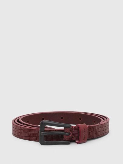 Diesel - B-MONO, Bordeaux - Belts - Image 1