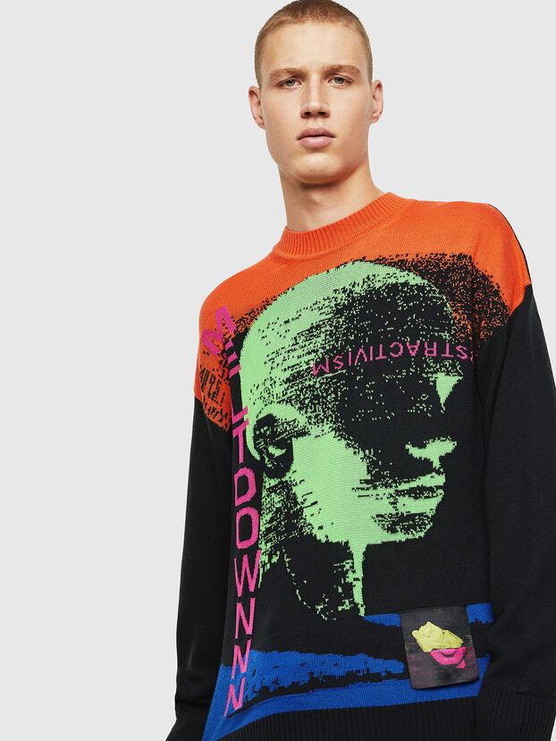K-MELTER, Multicolor/Black - Knitwear