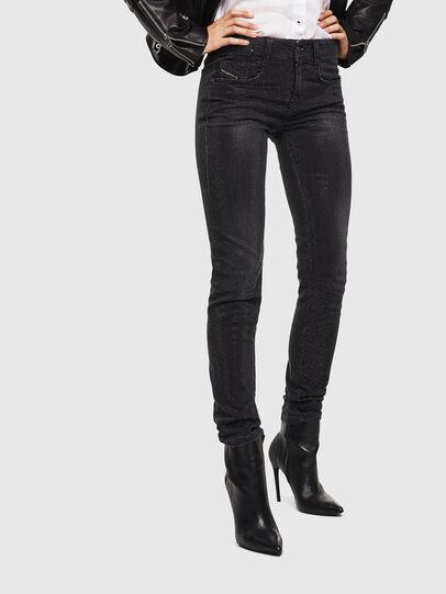 Diesel - D-Ollies JoggJeans 0093H, Black/Dark grey - Jeans - Image 1