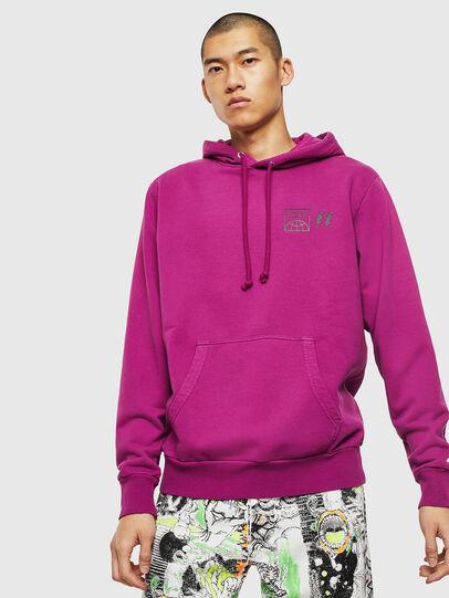 Diesel - S-GIRK-HOOD-SUN, Lilac - Sweaters - Image 1