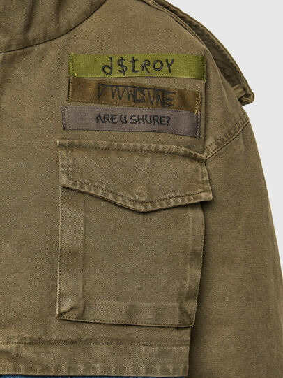 Diesel - G-CHRISTINA, Military Green - Jackets - Image 4