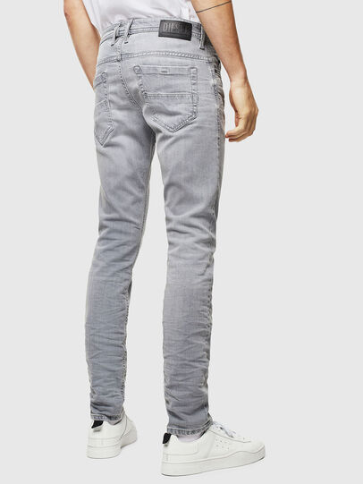 Diesel - Thommer 0890E, Light Grey - Jeans - Image 2