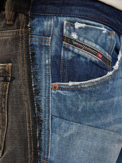 Diesel - D-Kras 009EA, Black/Dark grey - Jeans - Image 3