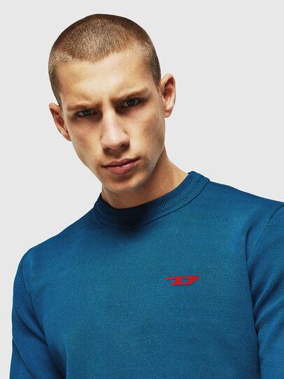 Diesel - K-LUISS, Blue - Knitwear - Image 3