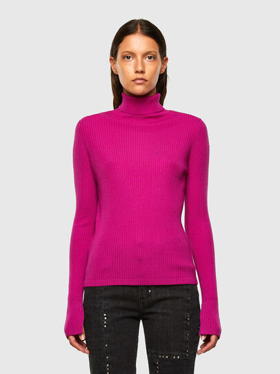 Diesel - M-KIMBERLY, Hot pink - Knitwear - Image 1