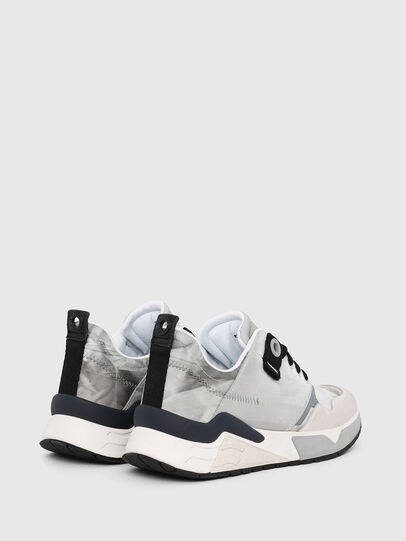 Diesel - S-BRENTHA LC, Light Grey - Sneakers - Image 3