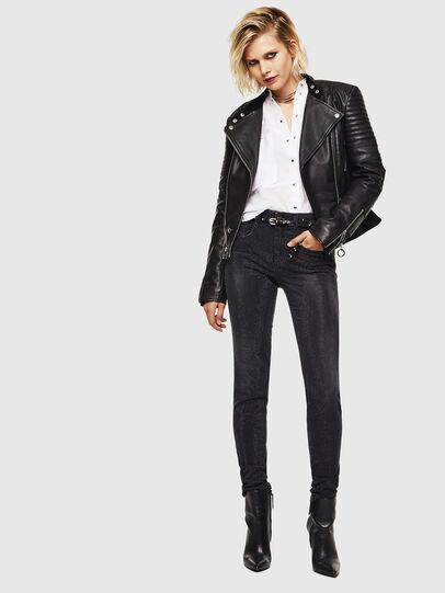 Diesel - D-Ollies JoggJeans 0093H, Black/Dark grey - Jeans - Image 6