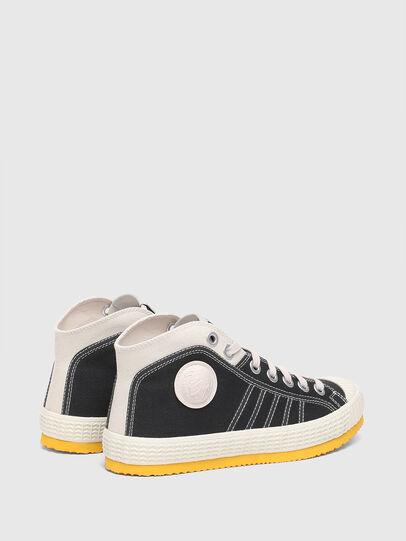 Diesel - S-YUK MC W, Black/Yellow - Sneakers - Image 3