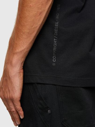 Diesel - T-TUBOLAR-N2, Black - T-Shirts - Image 4