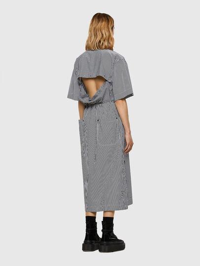 Diesel - D-LIZETH-A, Black/White - Dresses - Image 5