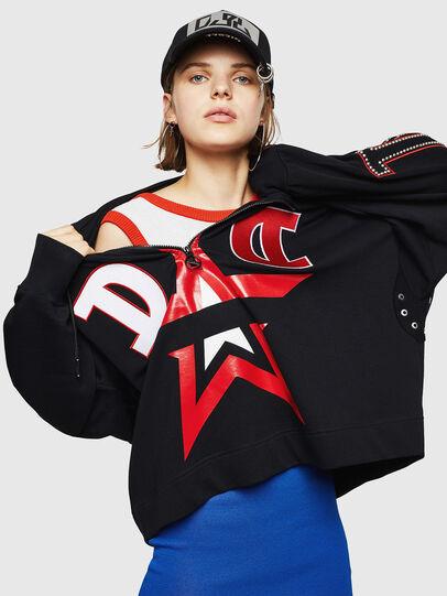 Diesel - F-AVAH-PR, Black - Sweaters - Image 4