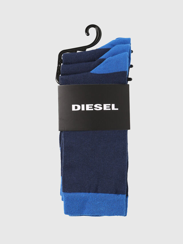 Diesel SKM-RAY-THREEPACK, Blue - Socks - Image 2