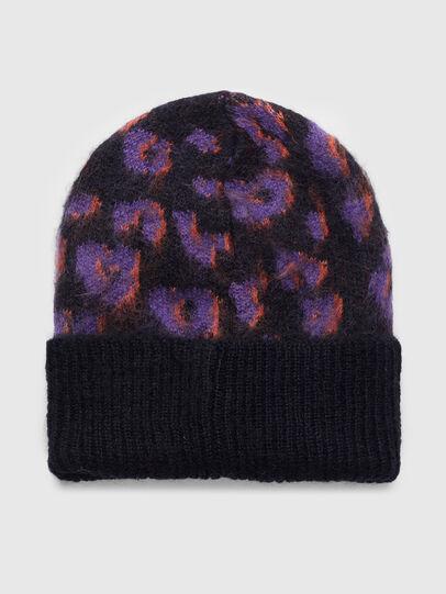 Diesel - K-TAYLER, Black/Violet - Knit caps - Image 2