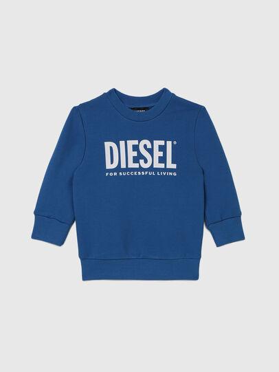 Diesel - SCREWDIVISION-LOGOB-, Blue - Sweaters - Image 1