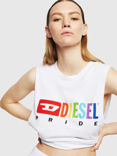 Diesel - UFTK-AVERY, White - Tops - Image 3