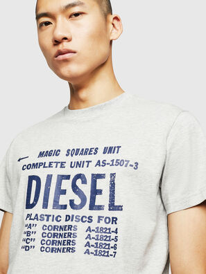 T-DIEGO-B6, Light Grey - T-Shirts
