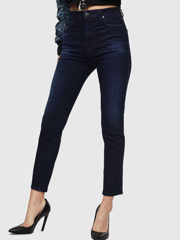 Babhila High 083AG, Dark Blue - Jeans