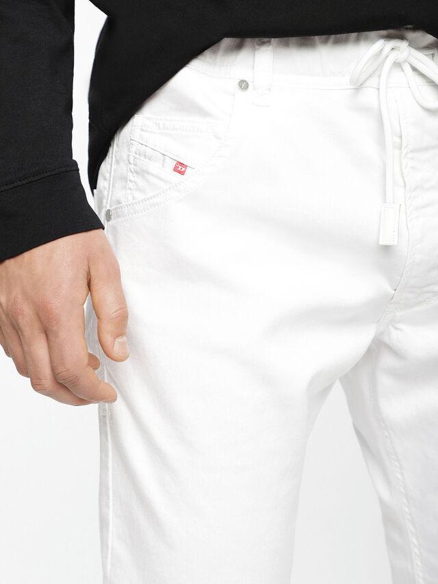 Diesel - Krooley JoggJeans 0684U, White - Jeans - Image 5