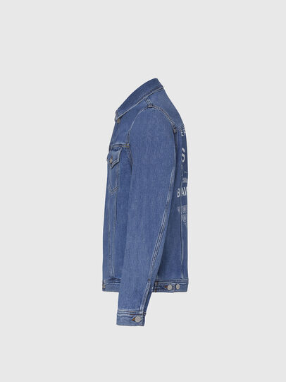 Diesel - NHILL-SP2, Light Blue - Denim Jackets - Image 3