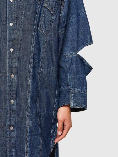 Diesel - CL-DE-BLIV, Dark Blue - Dresses - Image 4