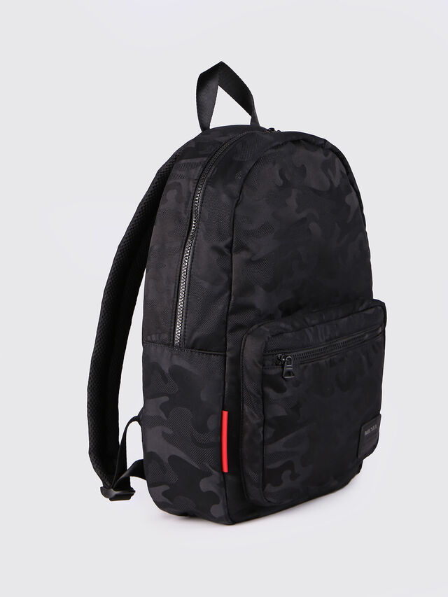 Diesel - F-DISCOVER BACK, Black - Backpacks - Image 2