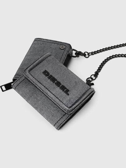 Diesel - LORY, Grey - Small Wallets - Image 8