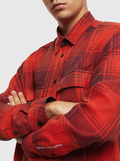 Diesel - S-MILLERIN, Red - Shirts - Image 3