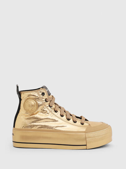 Diesel - S-ASTICO MC WEDGE, Gold - Sneakers - Image 1