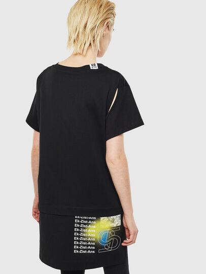 Diesel - T-SHALIE, Black - T-Shirts - Image 2