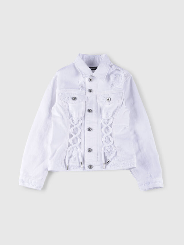 Diesel - JEOCYD, White Jeans - Jackets - Image 1