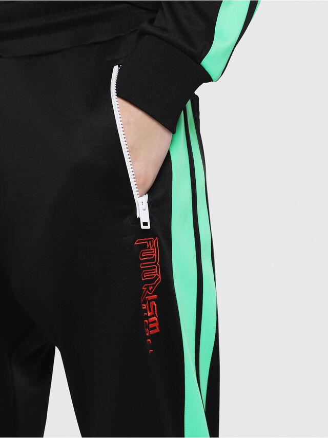 Diesel - P-RUSSY-BAND, Black/Green - Pants - Image 3