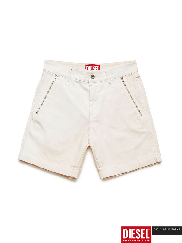 GR02-P303, White - Shorts