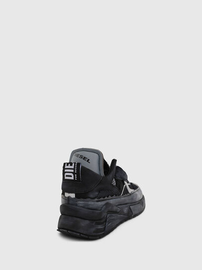 Diesel - S-BRENTHA DEC, Black - Sneakers - Image 4