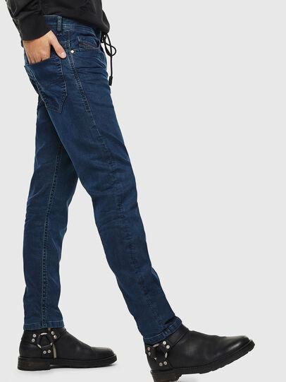 Diesel - Thommer JoggJeans 0688J, Dark Blue - Jeans - Image 5