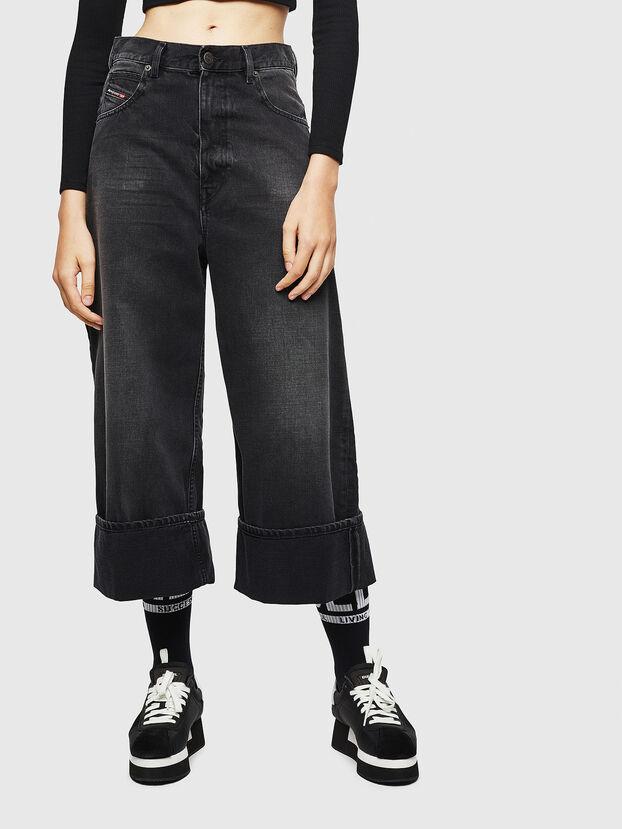 D-Luite 083AK, Black/Dark grey - Jeans