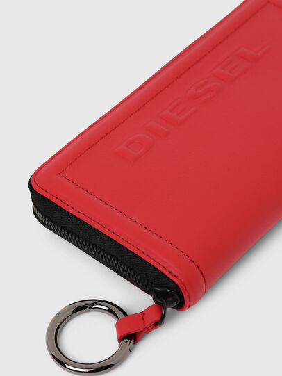 Diesel - GRANATO LC, Fire Red - Zip-Round Wallets - Image 3