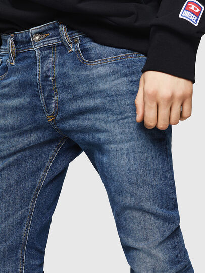 Diesel - Sleenker 069FZ, Medium blue - Jeans - Image 3