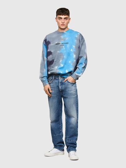 Diesel - S-MART-E4, Grey/Blue - Sweaters - Image 4