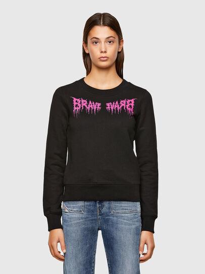 Diesel - F-AMOUS, Black - Sweaters - Image 1
