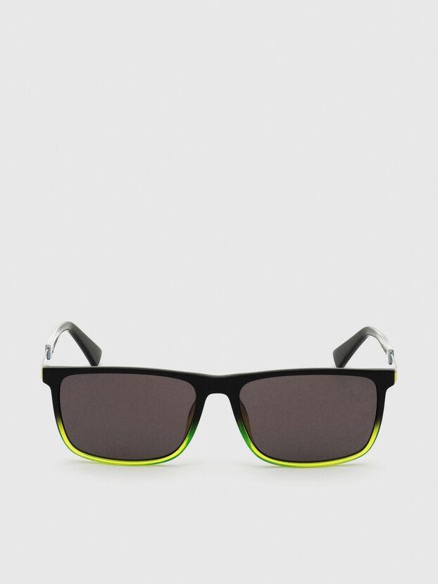 DL0312, Black/Yellow - Sunglasses