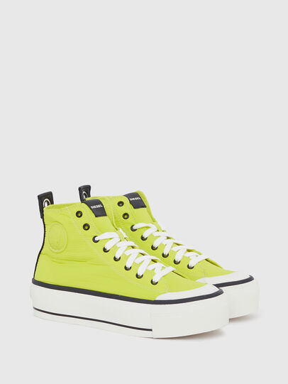 Diesel - S-ASTICO MC WEDGE, Yellow - Sneakers - Image 2