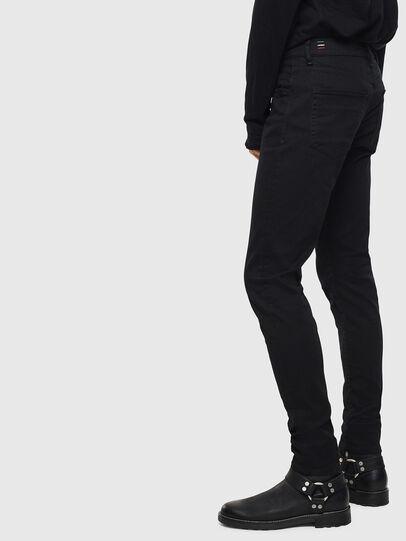 Diesel - D-Strukt 069JB, Black/Dark grey - Jeans - Image 4