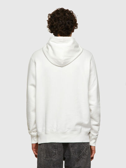 Diesel - DxD-21, White - Sweaters - Image 3