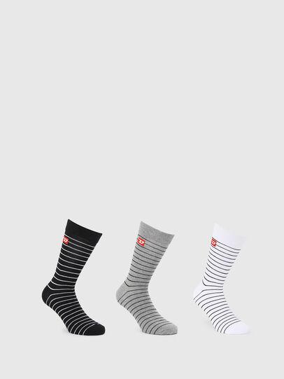 Diesel - SKM-RAY-THREEPACK, Multicolor/Black - Socks - Image 1