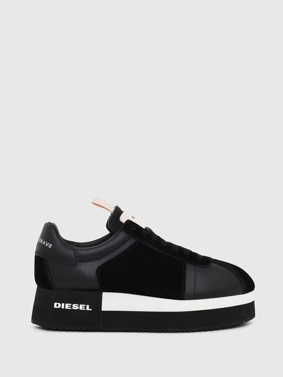Diesel - S-PYAVE WEDGE, Black - Sneakers - Image 1
